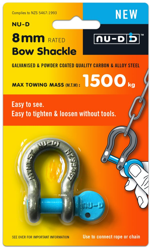 Nu-D_Pack_8mm_Bow - Dshackle